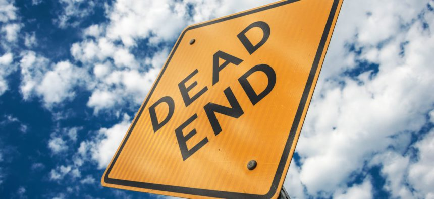 australie dead end sign