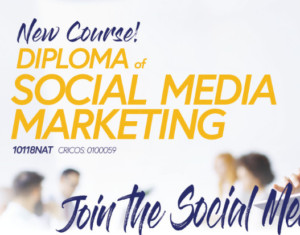 new course Social Media Marketing